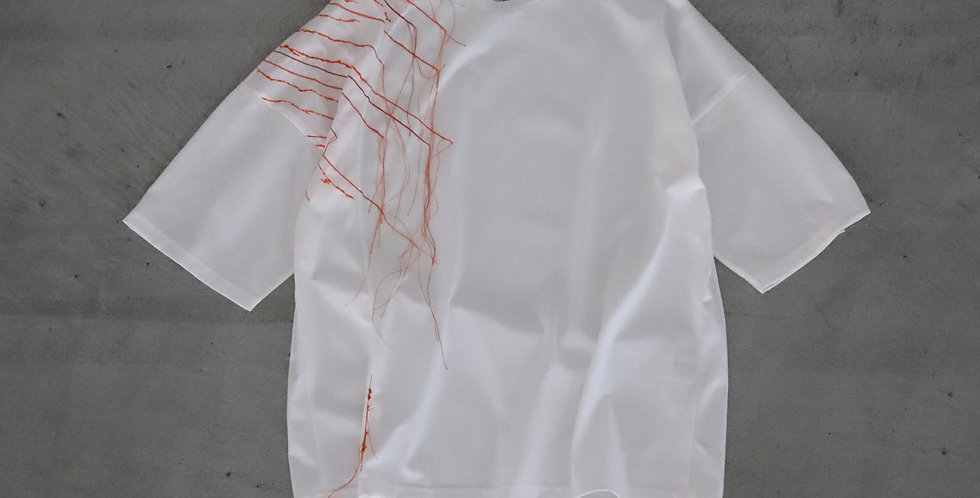 amachi. Ray T-shirt Limited Edition WHITE