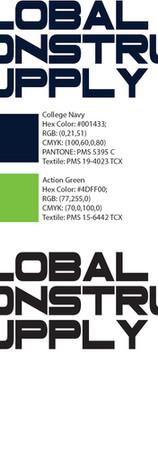 Global Construction Supply Logo Design