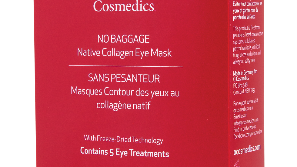 No Baggage Native Collagen Eye Masks