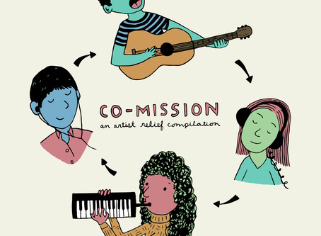 MC commissioned to write/record a song for Folkadelphia's Inaugural 'Co-Mission' Artist Relief comp