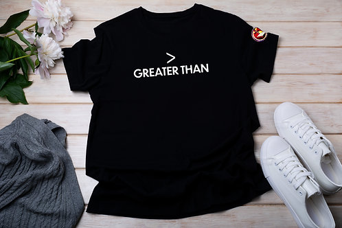 > Greater Than Shirt SM
