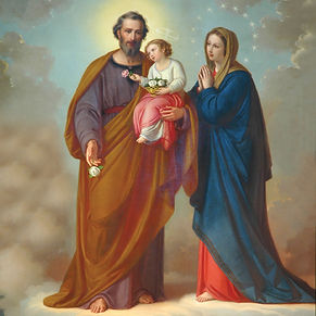 Fatima and Saint Joseph
