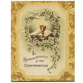 Confirmation Keepsake Book
