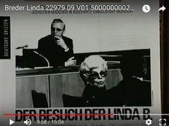 Linda Reich (Breder) testifying at SS trial 1987.png