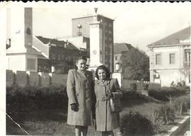 Berta with Elena, post war