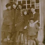 The Friedman family, Humenne, Slovakia.
