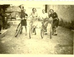 Edie (#1949) and her sister Ella (#1950) Friedman