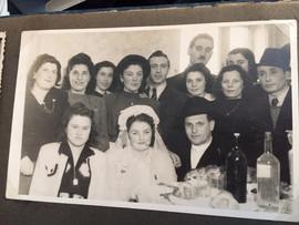 Bertha Berkowitz Lautman's wedding photo
