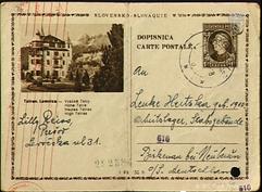 A Lenka Herzka postcard