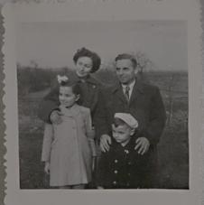 Deborah Gross with Martin Grosman and their children
