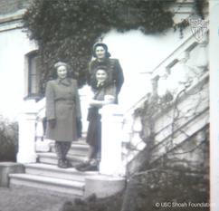Lily, Ella and Edie Friedman, postward