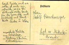 Lenka Herzka postcard