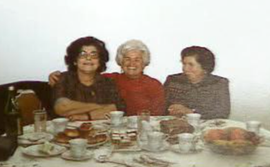 Peggy Kulik, Linda Reich (Breder) and Mira Gold