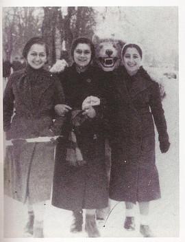Danka, Dina and Rena grew up in Tylicz, Poland.