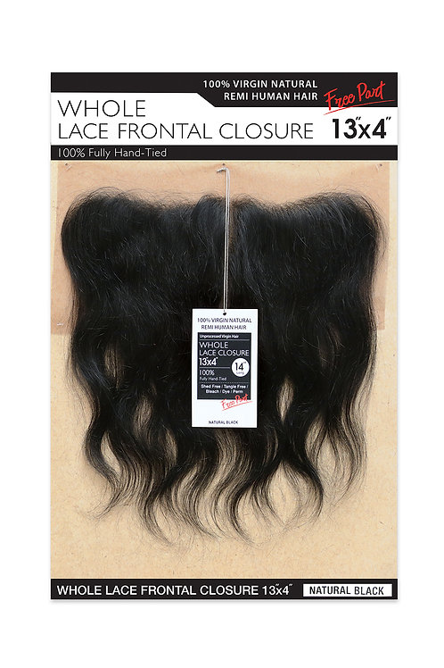 NATURAL LACE CLOSURE 13X4 BODY WAVE