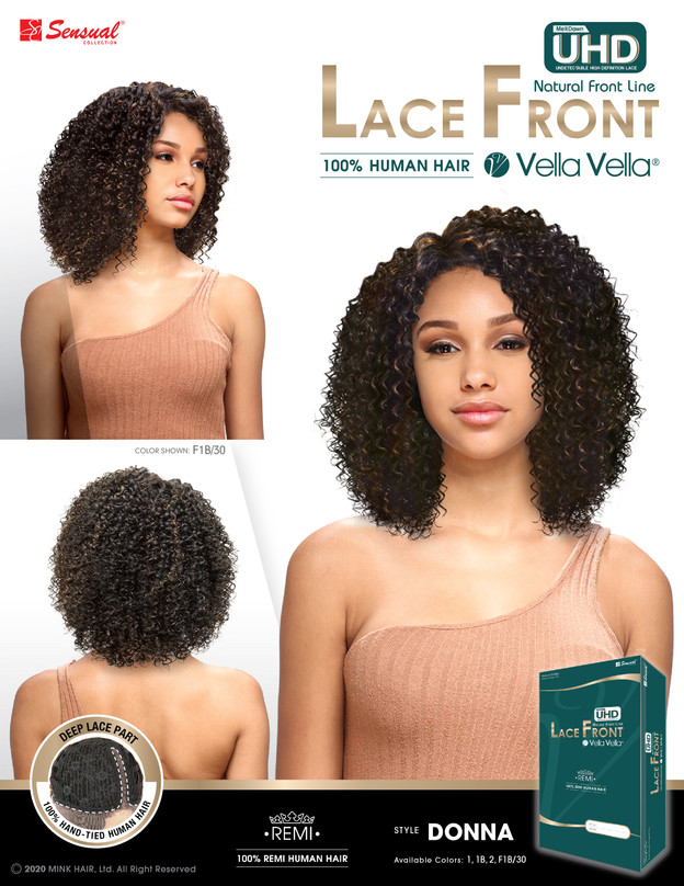 LACE FRONT HUMAN HAIR WIG - DONNA