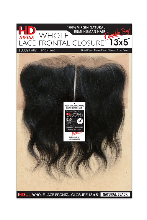 HD NATURAL LACE CLOSURE 13X5 BODY WAVE