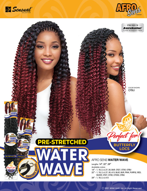 AFRO SENS BRAID - SINGLE WATERWAVE