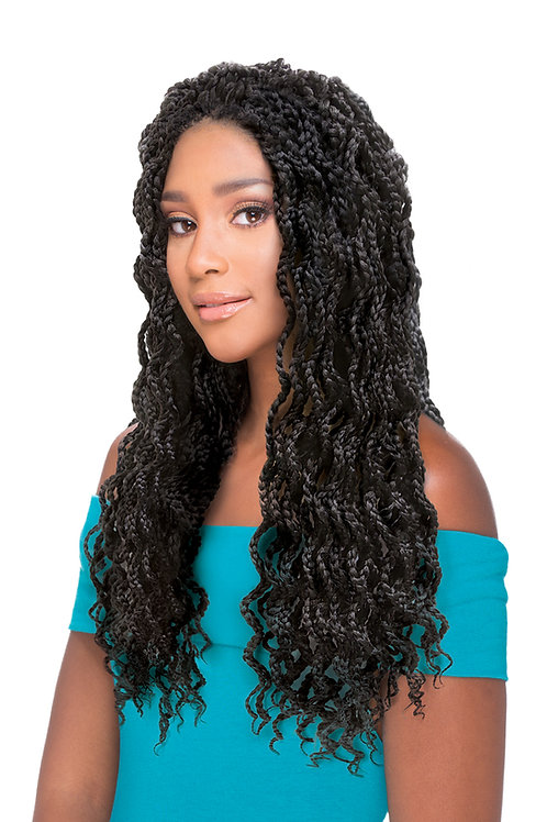 AFRO SENS 2X BOX BRAID WAVY