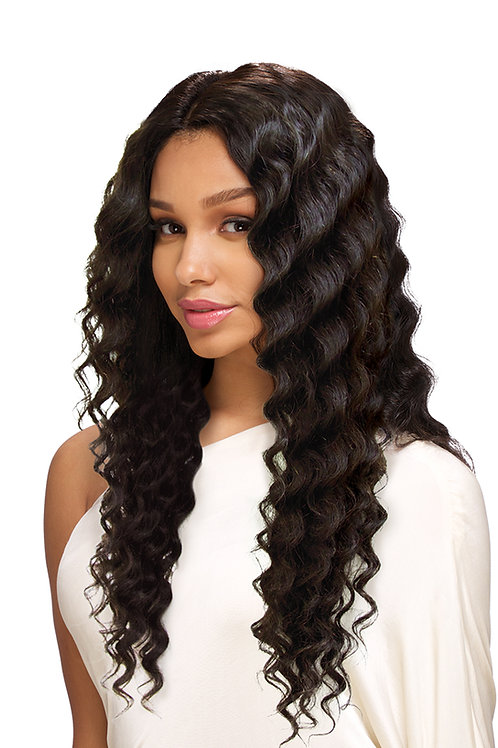 LACE NATURAL DEEP WAVE 24""