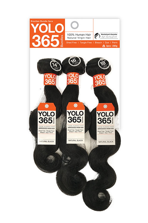 YOLO 365 BODY WAVE 3PCS
