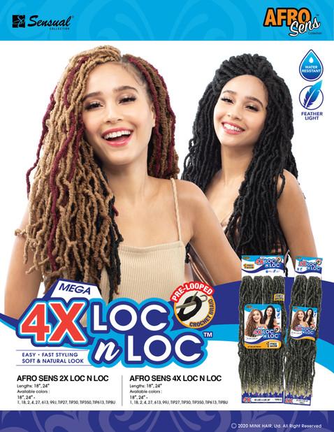AFRO SENS - 4X LOC N LOC
