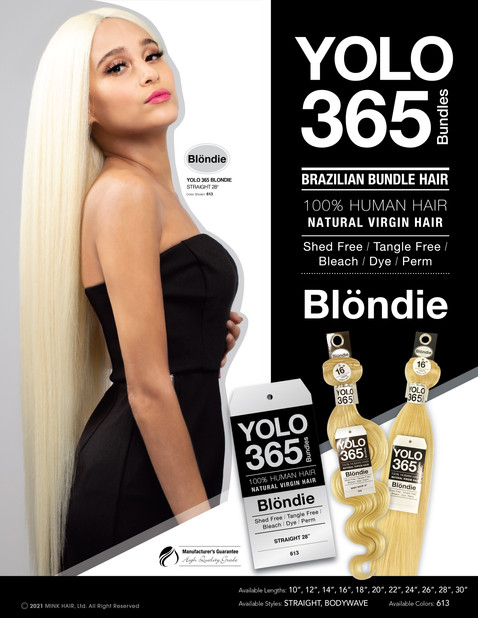 YOLO 365 BLONDIE