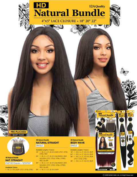 HD NATURAL BUNDLE - NAT.STRAIGHT