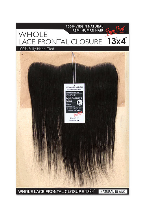 NATURAL LACE CLOSURE 13X4 STRAIGHT