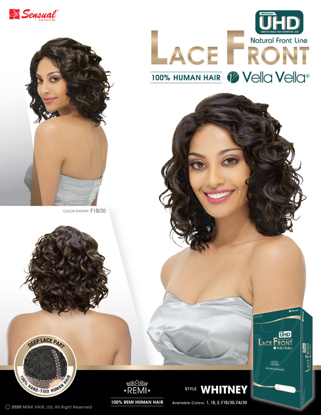 LACE FRONT HUMAN HAIR WIG - WHITNEY