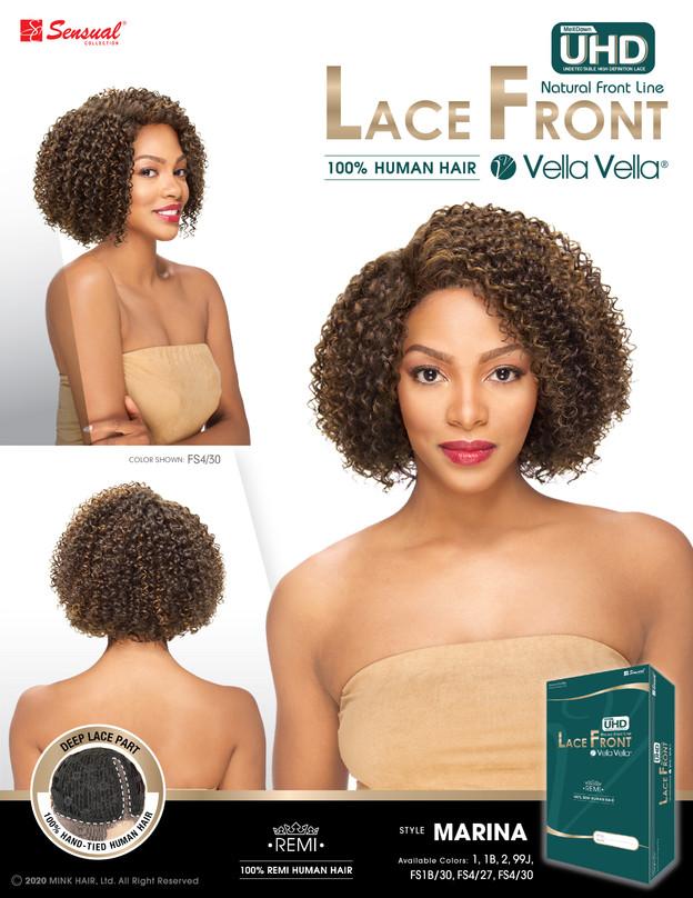 LACE FRONT HUMAN HAIR WIG - MARINA