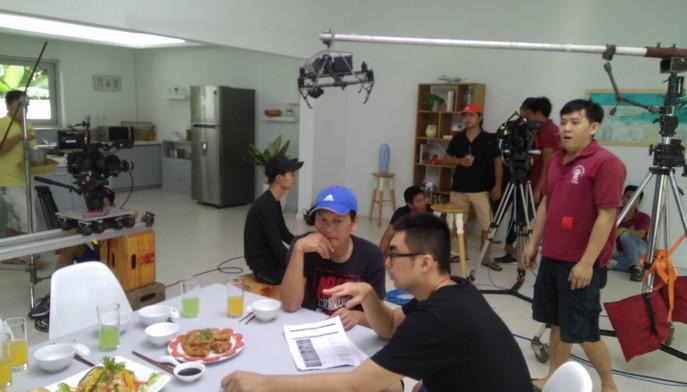 Behind Scene Samsung -Fridge