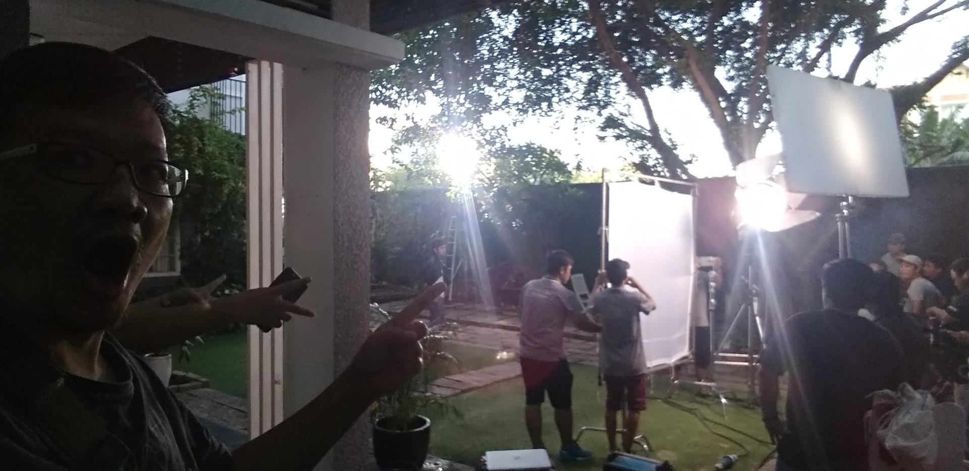 Behind Scene-XISAT