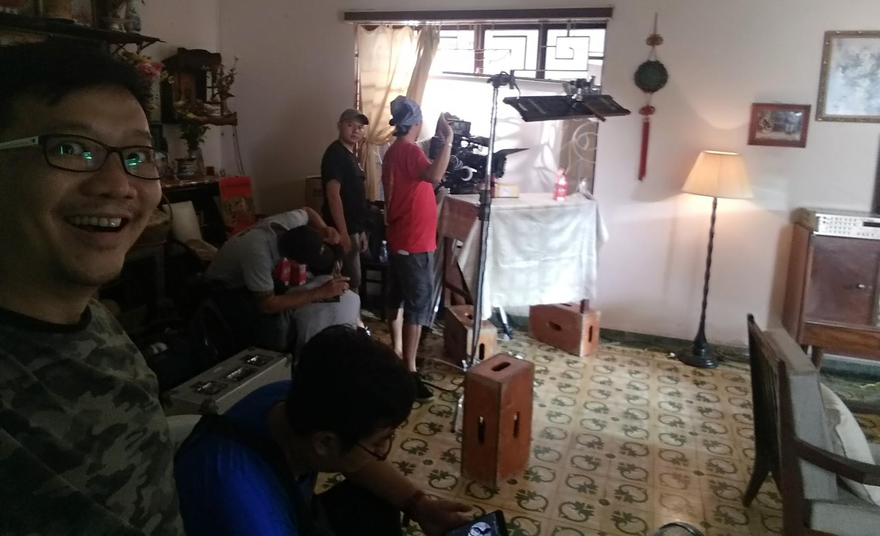 Behind scene OMO Promo