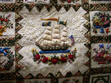 Elly's Happiness Ship quilted.jpg