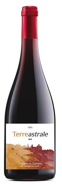 bottle of Terre astrale