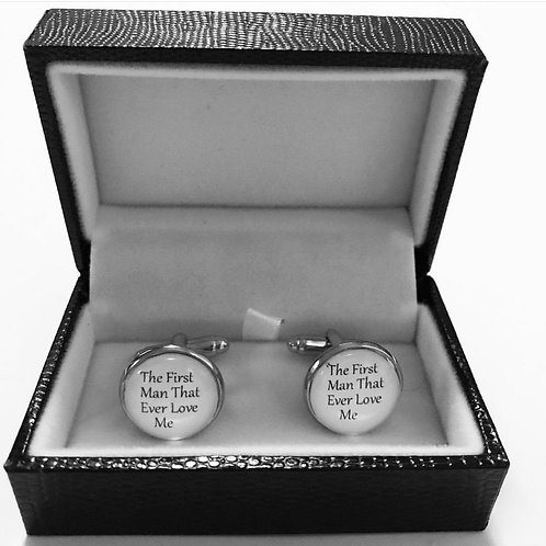 The First Man That Ever Loved Me Cufflinks