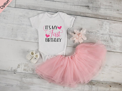Its My First Birthday Infant Bodysuit