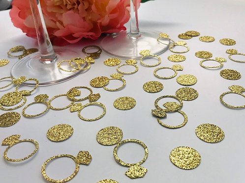 Decorative Gold Rings