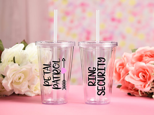 Children's Tumbler Set for Weddings
