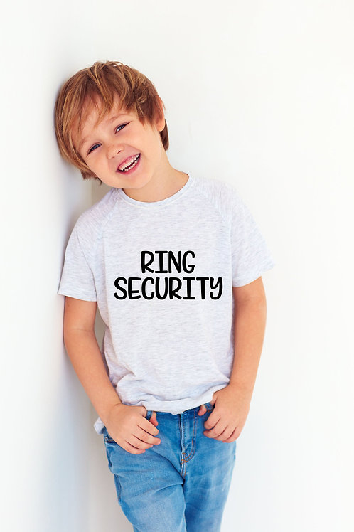 Ring Security Shirt Kids