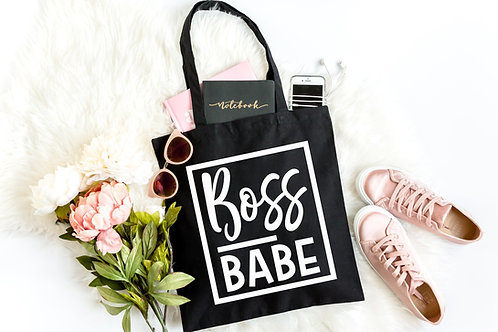 Boss Babe Tote Bag