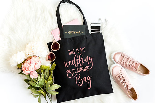 This is my Wedding Planning Bag
