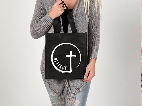 Believe Cross Tote Bag