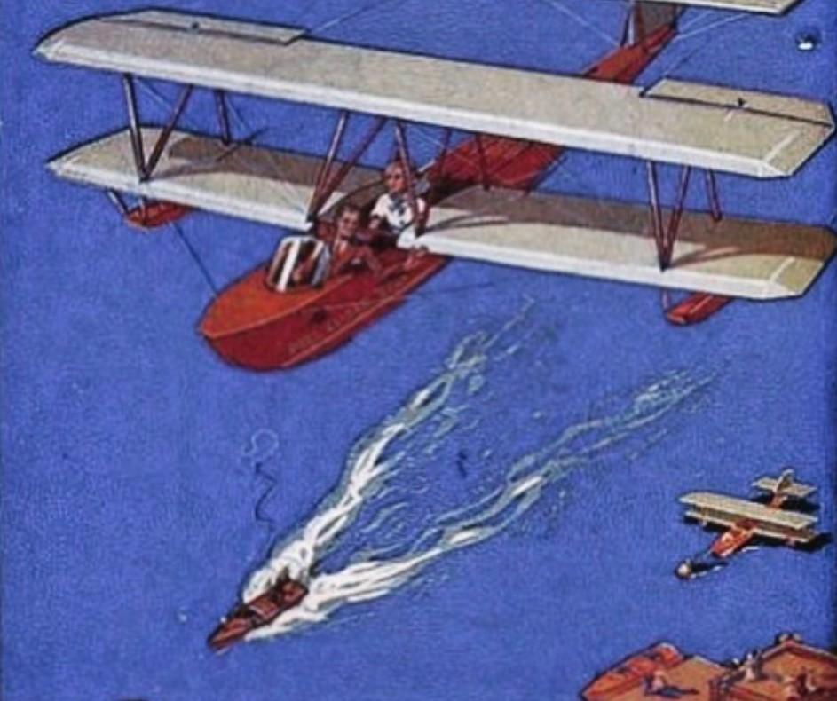 Peel Glider Boat, Glider, amphibious glider