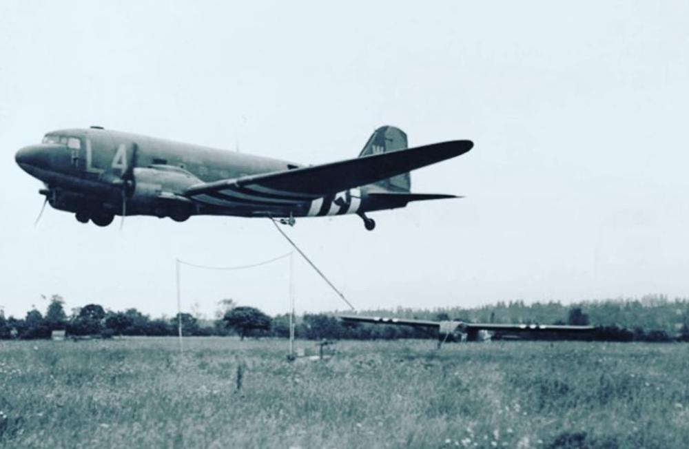 Douglas C-47, DC3, CG4 glider, Waco Glider, WWII
