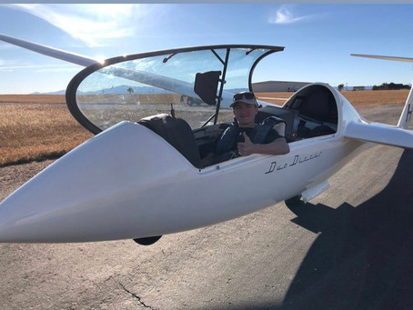 Meet Eagle Scout Candidate and Glider Pilot, Patrick Mendonca