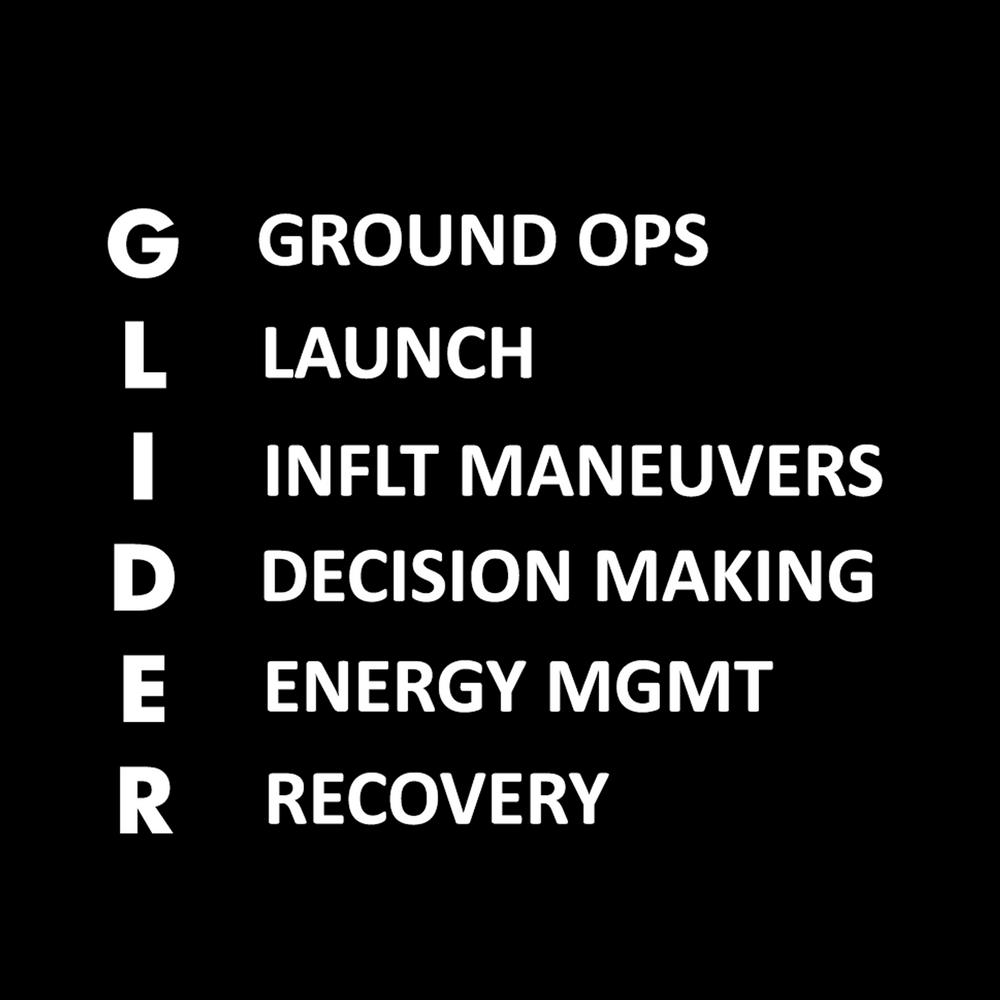 stick and glider debrief, decision making, airmanship, the glider debrief, aviation safety