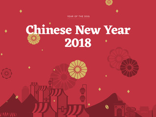 Chinese New Year 2018 - The Year of the Dog