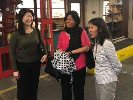 Pacific Islands Director based on Guam, Dr. Pamela Peralta visits GRMF team in Hawaii